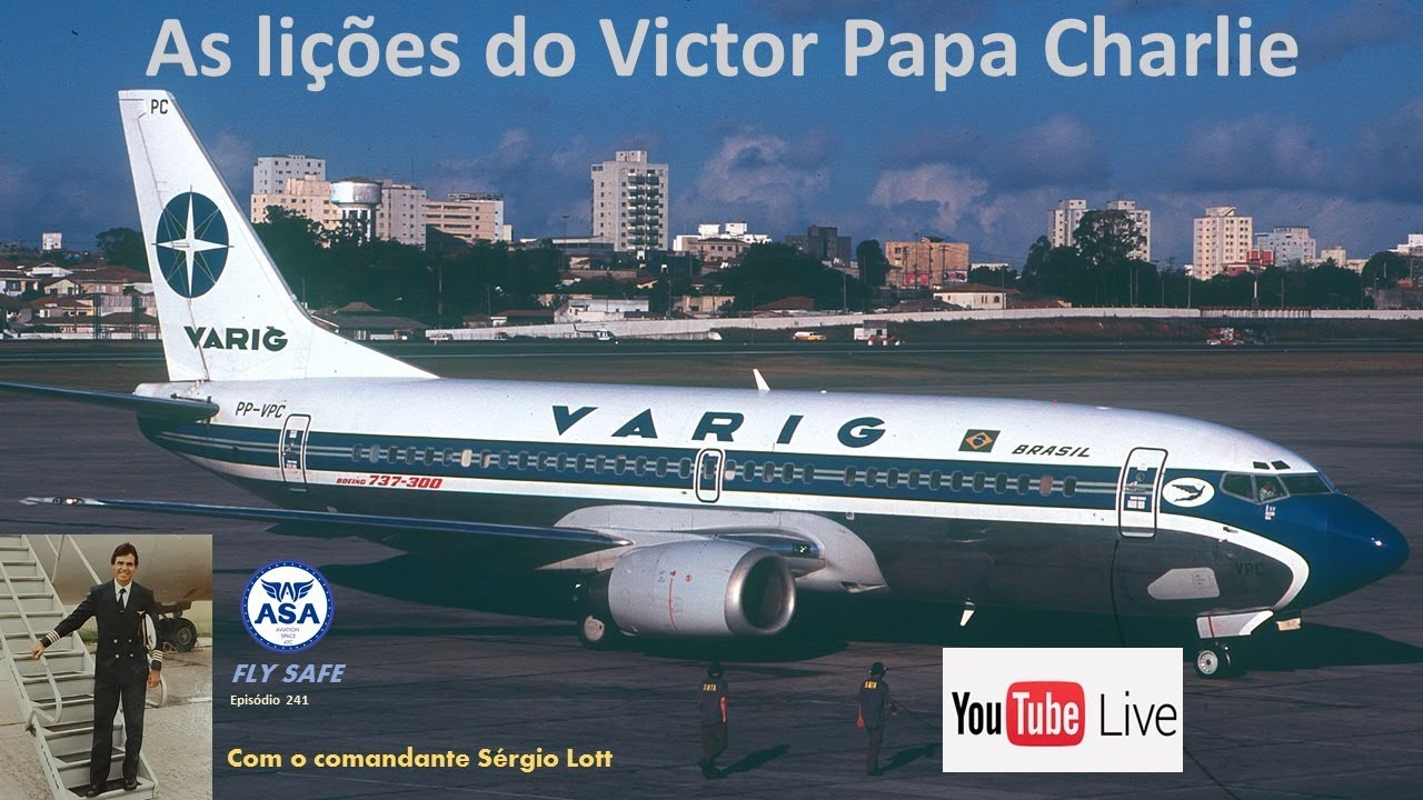 As lições do Victor Papa Charlie - Episódio 241 (Fly Safe) - Canal ASA
