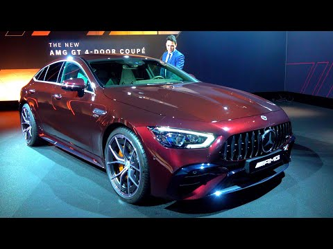 2022 Mercedes AMG GT 4 Door Coupe | NEW GT53 FULL Review Interior Exterior