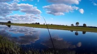 Спиннинговая ловля щуки на воблеры и блесны. На реке Кама..