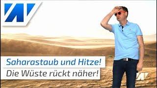 Saharastaub und Hitze bringt Wüstenfeeling nach Deutschland! ☀️ (Mod.: Dominik Jung)