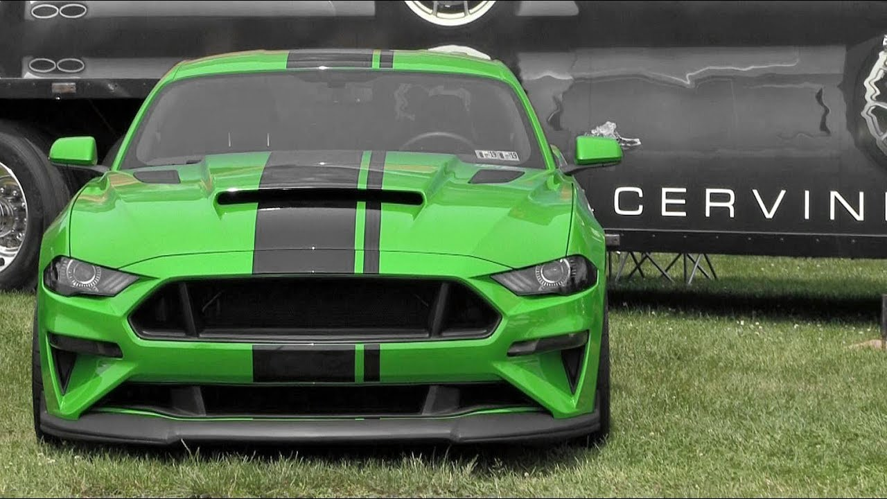 The only need for green 2019 ford mustang gt at carlisle ford nationals