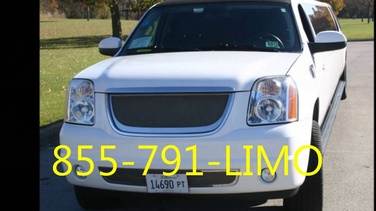 Limo Service Chicago SUV Stretch Yukon Denali ENVY Way To Go