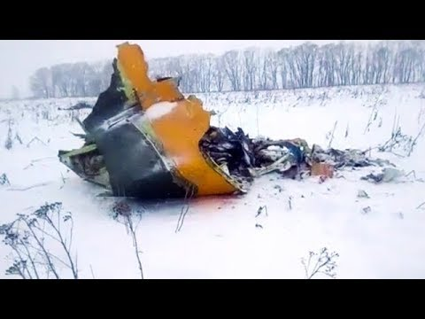 Russian airplane crash kills 71