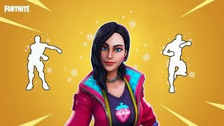 FORTNITE ROX SKIN w/ALL DANCE EMOTES