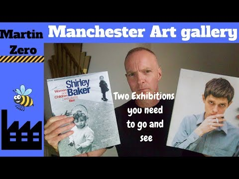 Manchester Art Gallery. Two Exhibitions to See !!