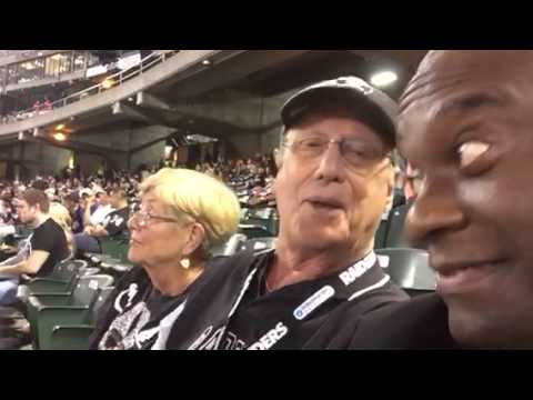 Godparents Give View Of Oakland Raiders v AZ Cards Game #AZvOAK