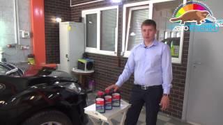 Восстановительная полировка автомобиля Mazda CX7 в