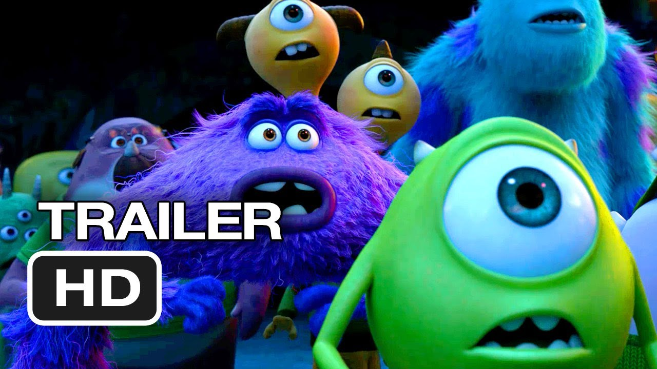 Monsters University Official Trailer It All Began Here 2013 Monsters Inc Prequel Hd Youtube