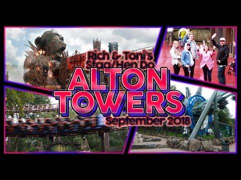 Alton Towers VLOG | September 2018 (♥ Rich & Toni ♥)