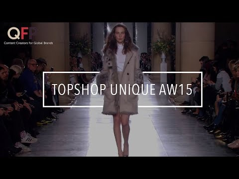 Topshop Unique London Fashion Week AW15 - Tate Britain