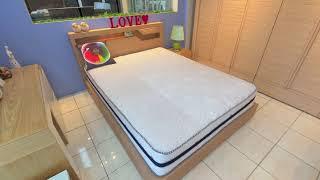 포천가구단지 로하스가구 LED조명 침대