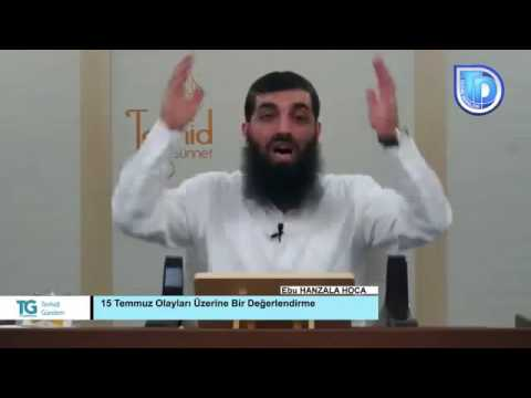 Ebu Hanzala Hoca'dan Cübbeli m.okuyan ve m.islamogluna reddiye