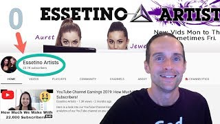 How Essetino Artists Got 23K Subscribers on YouTube — Dream Driven to Full Time YouTubers!