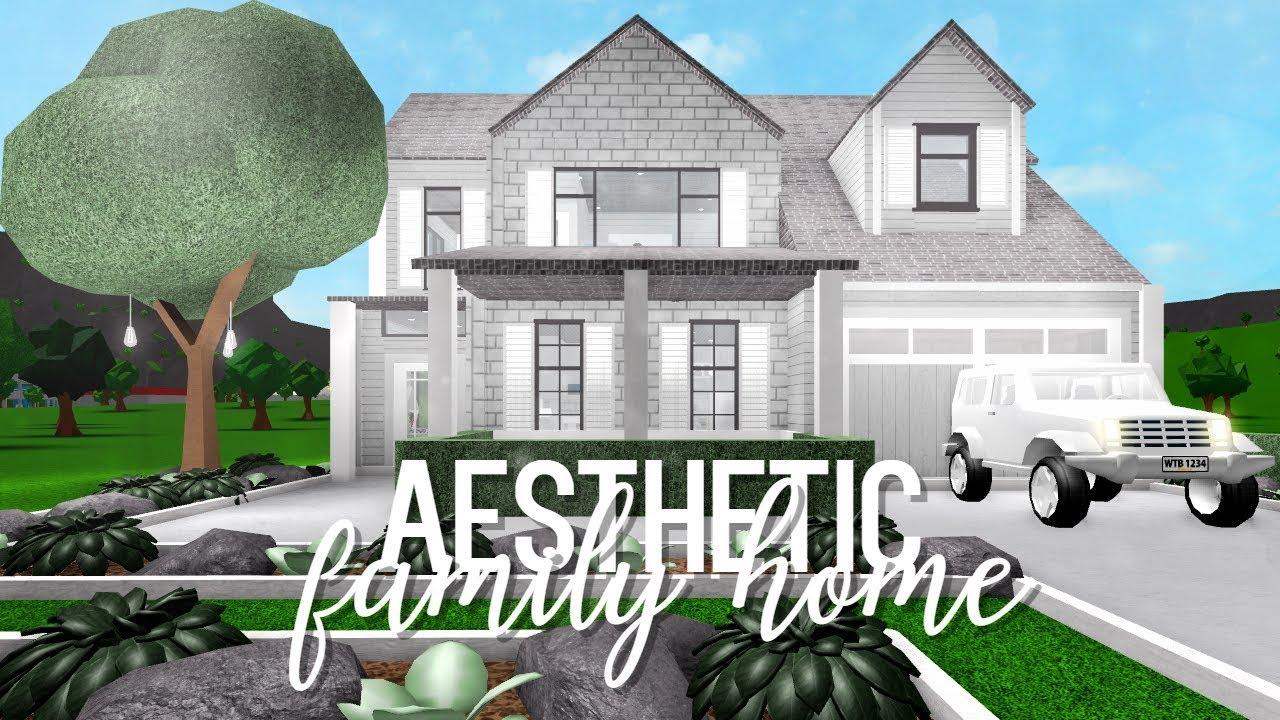 Bloxburg: Aesthetic Family Home 73k