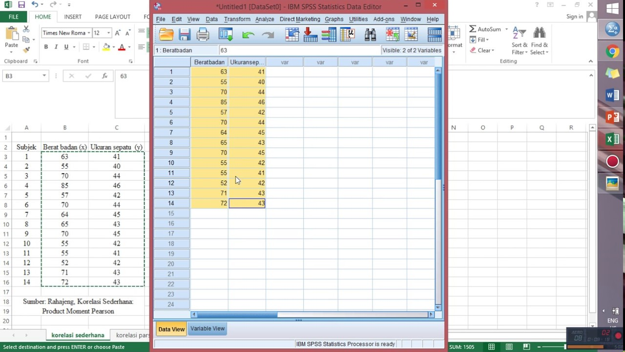 Uji korelasi menggunakan spss correlation test using spss youtube uji korelasi menggunakan spss correlation test using spss ccuart Images