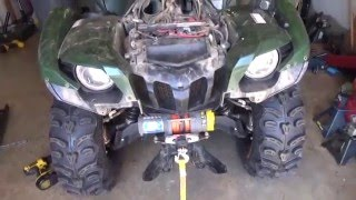 how to hid conversion kit installed in a 2007 yamaha grizzly atv