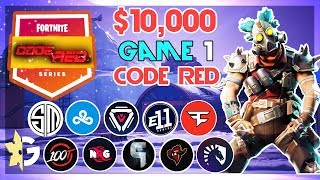 $10,000 🥊CodeRed Duo Tournament🥊 Game 1 (Fortnite)