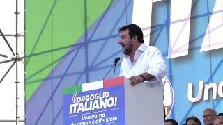 Centrodestra in piazza, Salvini: