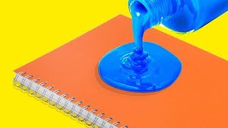 9 COLORFUL AND FUN DIY NOTEBOOKS FOR KIDS