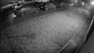 Неадекват разбил шесть машин во дворе