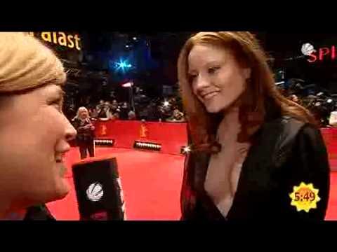Barbara Meier Berlinale 2010 kurzes ITV