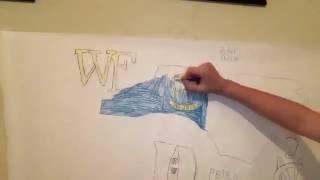 North Carolina Time Lapse Drawing