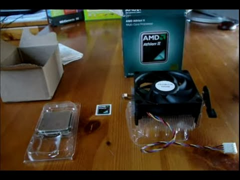 Processore Cpu Amd Athlon Ii X2 250 3 0ghz Am3 65w Boxed Unboxing Apertura Scatola Youtube