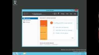 Windows Server 2012 Remote Desktop Services (RDS) Session Based Desktop