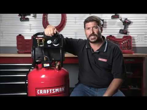 Craftsman 20 Gallon Portable Vertical Air Compressor Product Review Ace Hardware Youtube