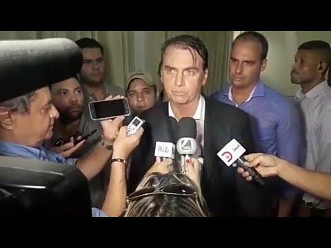 JAIR BOLSONARO SURPREENDE NA COLETIVA DE IMPRENSA EM DOURADOS/MS