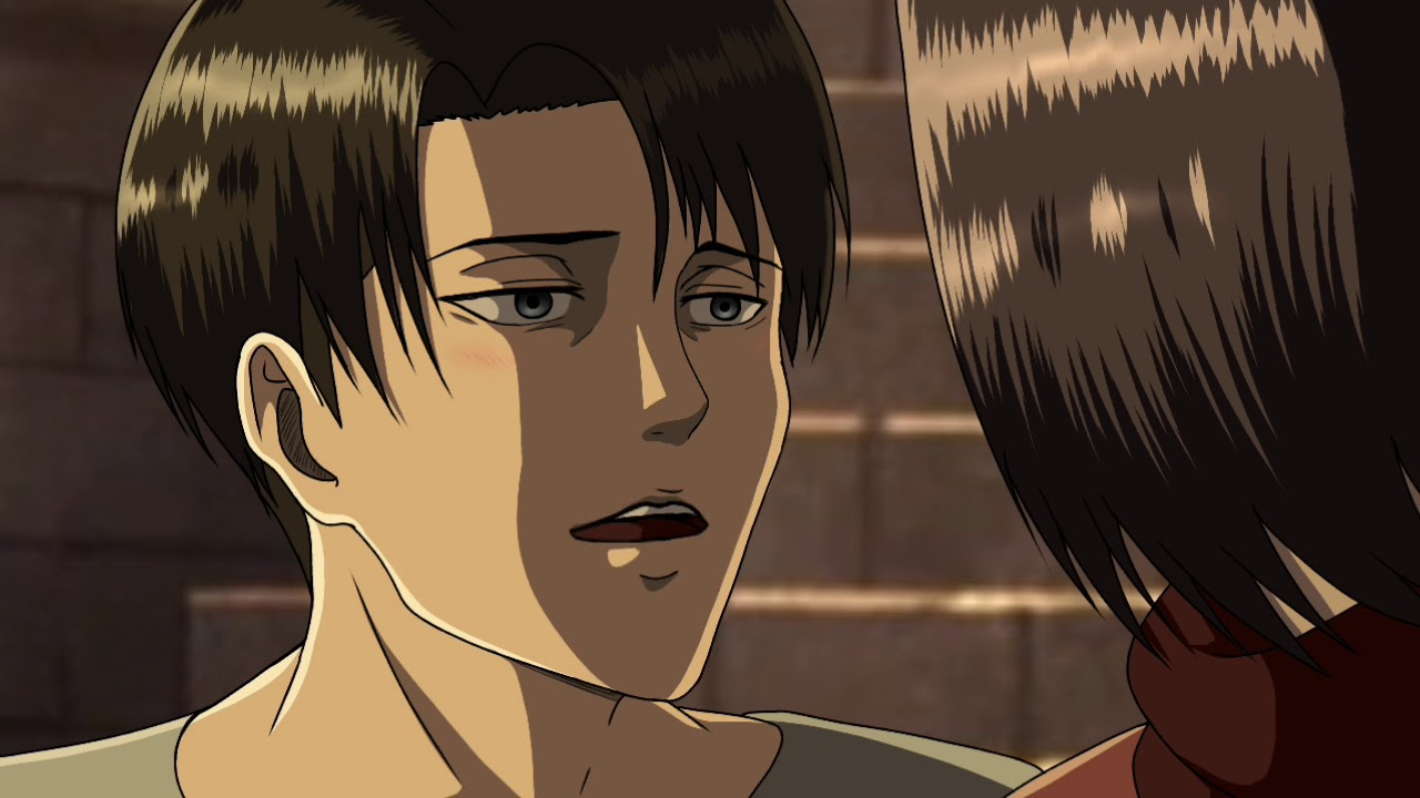 Mikasa vs Levi AoT season 3 | Levi ackerman | Attack on ... |Attack On Titan Levi And Mikasa