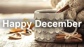 Happy December Jazz  Positive Mood Winter Jazz Cafe and Bossa Nova Music