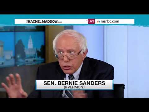 Sanders on The Rachel Maddow Show