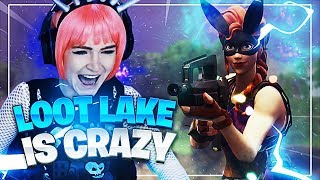 LOOT LAKE is CRAZY in the SOLO TOURNAMENT! (Fortnite: Battle Royale) | KittyPlays
