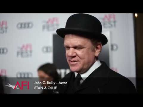 Interviews with STAN & OLLIE director Jon S. Baird, actor John C. Reilly and more