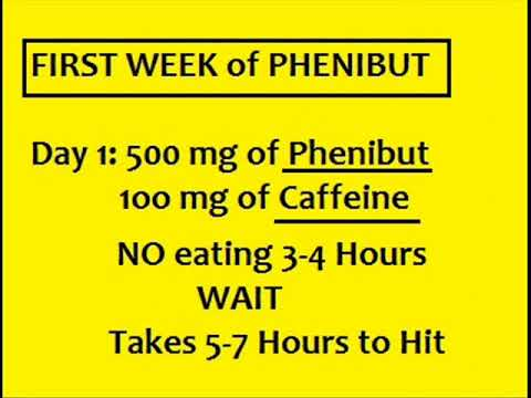 PHENIBUT -- The Wise Way to Dose!