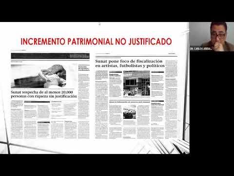 FISCALIZACIÓN DE PERSONA NATURAL E INCREMENTO PATRIMONIAL NO JUSTIFICADO