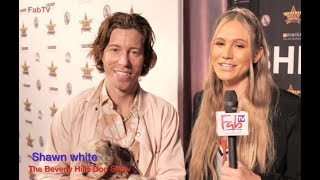 """Olympian Shaun White @ """"The Beverly Hills Dog Show""""  on FabTV"""
