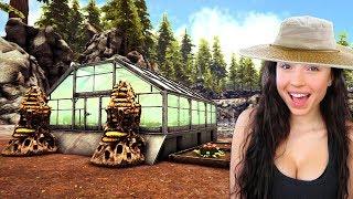 ARK: SURVIVAL EVOLVED - BUILDING OUR FARM!!