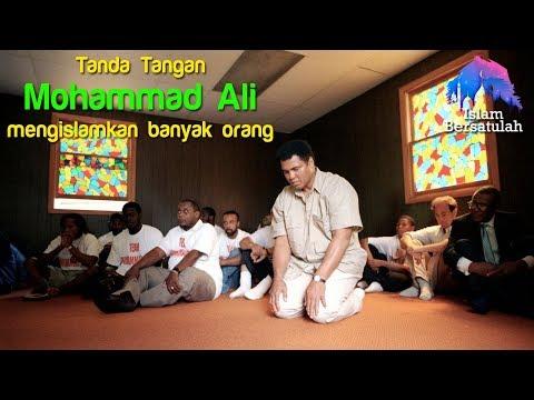 Masya Allah 💥 Kisah Tanda Tangan Mohammad Ali Mengislamkan Banyak Orang 💥 Sub Indo