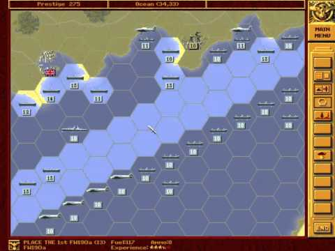Let's Re-Play - Panzer General - The Grand Campaign - 016 - Sealion40 - Part 001 - by MrKritik77