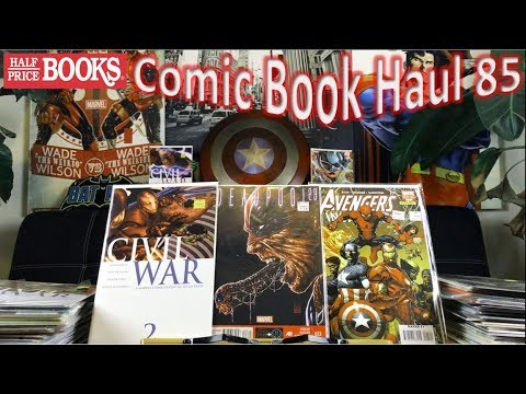 Half Price Books Comic Book Haul 85 | Deadpool's Civil War