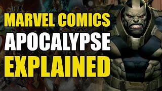 Marvel Comics: En Sabah Nur/Apocalypse Explained