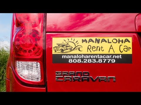 BUDGET RENTAL CARS ON MAUI HAWAII: Manaloha Rent A Car Review