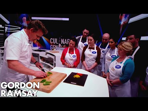 Download Youtube: Gordon Ramsay Demonstrates How to Dice, Julienne & Baton Peppers
