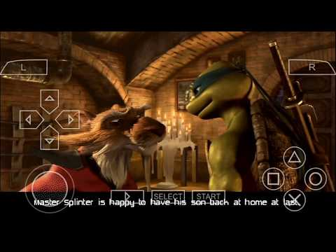 How to download Teenage Mutant Ninja Turtles on Android phone ppsspp Android mode