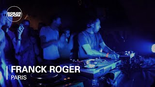 Franck Roger Boiler Room Paris DJ Set