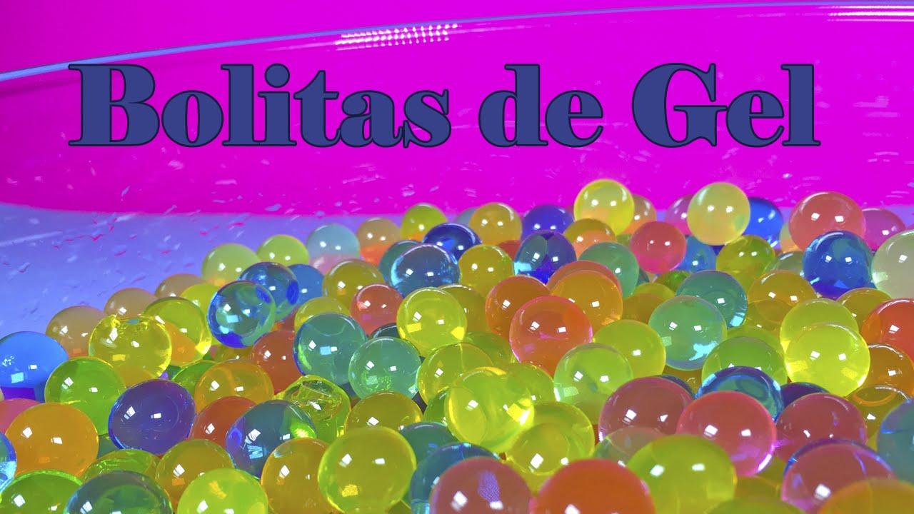 8bf1efcd3 Bolitas de gel de colores   Bolitas como las de Orbeez - YouTube