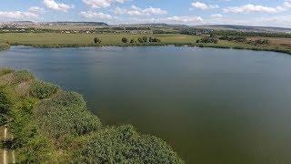 крым рыбалка озеро в трехпрудном