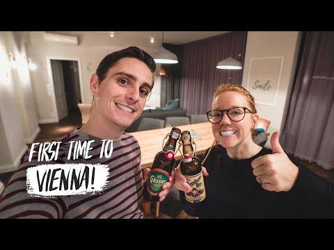 Arriving In AUSTRIA! 🇦🇹Apartment Tour + Tasting DELICIOUS Wiener Schnitzel (Germany ✈️ Austria)